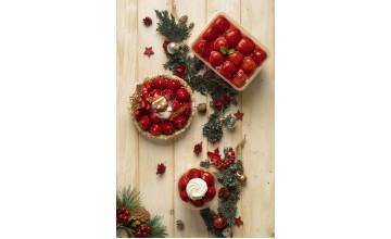 2020聖誕甜點上市|法式聖誕草莓派|新鮮草莓季系列