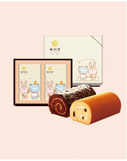 雙捲禮盒-楓糖+OREO