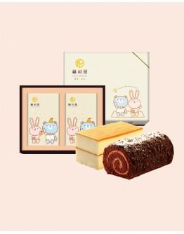 雙捲禮盒-雲朵蜂蜜+Oreo巧克力