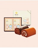雙捲禮盒-黑莓+Oreo