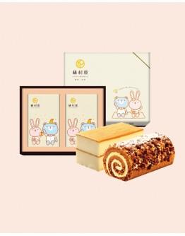 雙捲禮盒-雲朵蜂蜜+摩卡咖啡