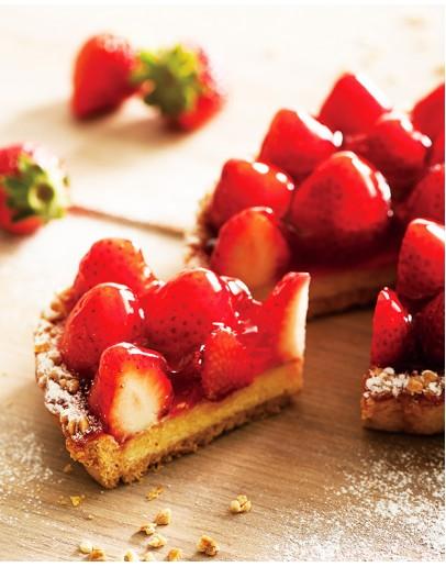 法式草莓派