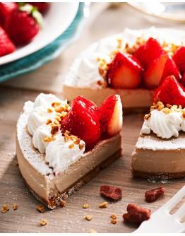 白色草莓起士